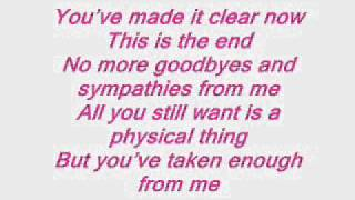 Armin van Buuren Feat Jennifer Rene - Fine Without You Lyrics