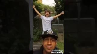 Brandon Beal and Lukas Graham Golden
