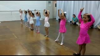 Cacá Berka - Aula de Ballet Infantil - 5 e 6 anos
