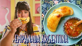 EMPANADAS ARGENTINAS AO VIVO | MUCHO QUEIJO E CEBOLA | RAIZA COSTA