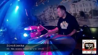 04/15 Ploštín Punk - Divožienka (drum cam)