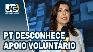 Bolsonaro diz que PT desconhece apoio voluntário