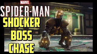 Spider-Man PS4 Herman Shocker Boss Chase