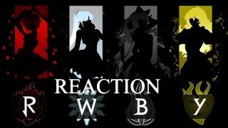 RWBY AMV Reaction