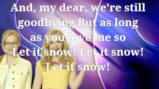 LET IT SNOW-DOVE CAMERON