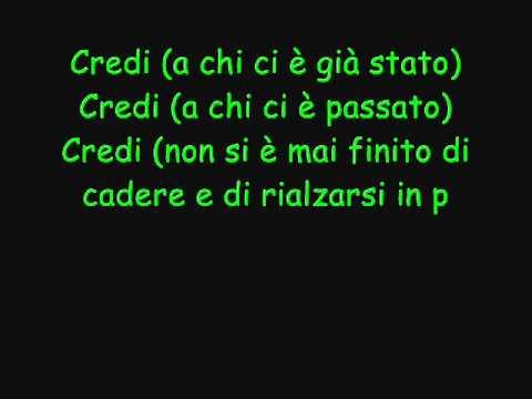 max-pezzali-credi-con-testo-maxpezzali2011