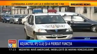 Adjunctul IPJ Cluj, demis dupa ce si-a sanctionat abuziv un subaltern