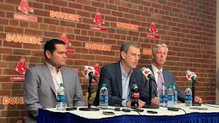David Ortiz shooting: Boston Red Sox president Sam Kennedy provides update at Fenway Park (June 1...