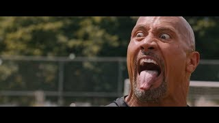 "Dwayne ""TheRock"" Johnson _The fate of the furious 8 ""Haka dance"""