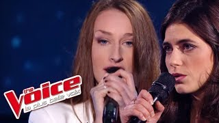 The Voice 2016 | Philippine VS Mary Ann - Paradis perdus (Christine & The Queens) | Battle