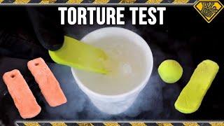 Proto-Putty in Liquid Nitrogen & Other Crazy Tests!