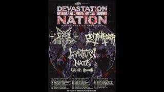 'Devastation On The Nation Tour' 2019 Dark Funeral and Belphegor Incantation, Hate and more!