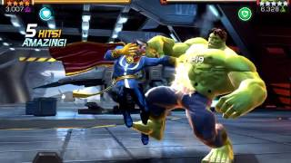MARVEL Contest Of Champions:How to bypass Physical Resistance