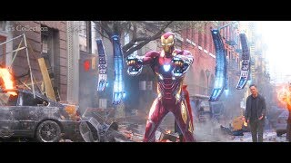 Iron Man Nano Tech Suit Up | Avengers: Infinity War 2018 Best Scenes