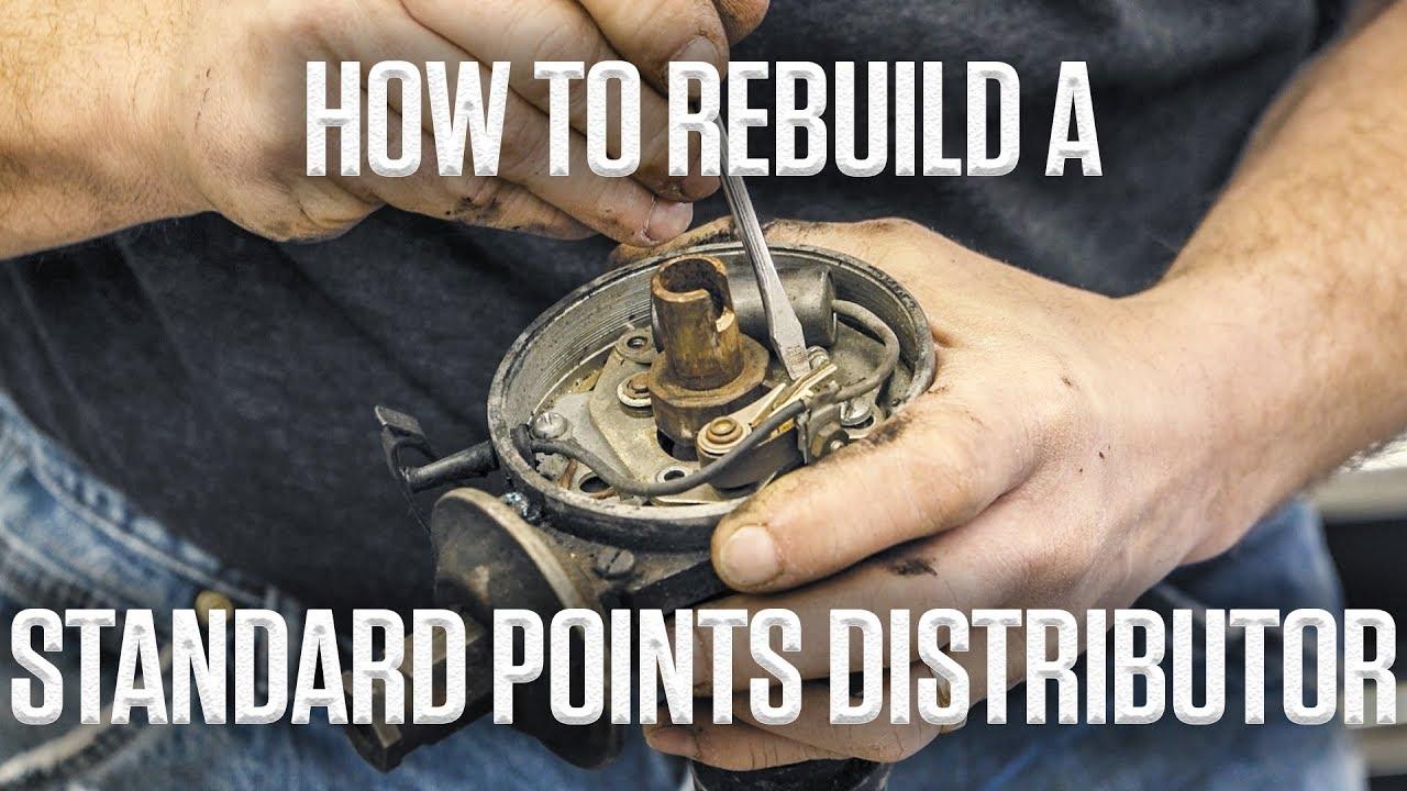 DIY: How to rebuild a Ford 289 V-8 standard points distributor