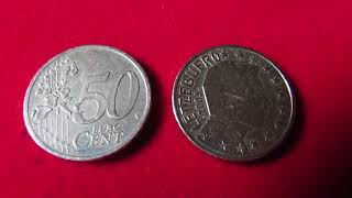 Moedas Euro 50 Cent Luxemburgo 2005