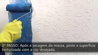 Como fazer efeitos decorativos impressionantes em paredes com rolos Magiefeitos Atlas