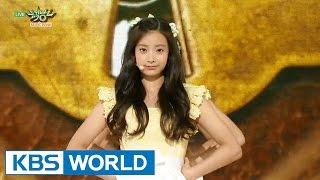 에이프릴 - 꿈사탕 | April - Dream Candy [Music Bank HOT Debut / 2015.08.28]