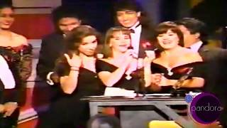 Pandora Recibe Premio Lo Nuestro 1991