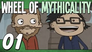 Rhett Gets Into Link's Taxi (Wheel of Mythicality - Ep. 1)