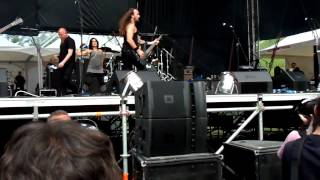 Tristania performing live @ Loud Festival, Sofia Bulgaria - 02.06.2012