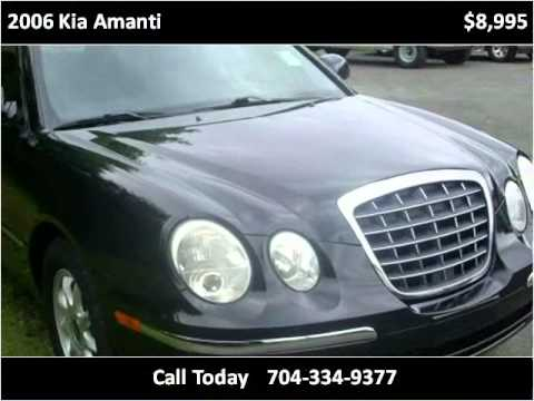 Vann York Chevrolet >> 2006 Kia Amanti Problems, Online Manuals and Repair
