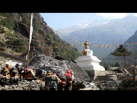 Everest Base Camp trek April 2011