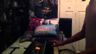 John Cena and Mark Henry Theme song Mash-up on piano