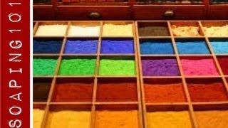 Cold Process Soap Colorants {micas, pigments + natural}