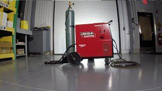 Lincoln 256 Power Mig Welder
