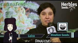 Herbie Interviews Dinafem Seeds