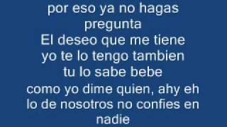 """gotay """"el autentiko"""" ft arcangel - lo de nosotros (letra)"""