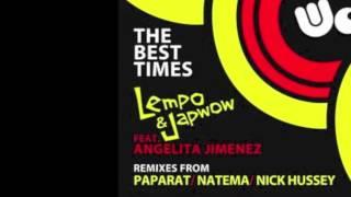 WONK049: Lempo & Japwow Featuring Angelita Jimenez - The Best Times (Natema Remix)