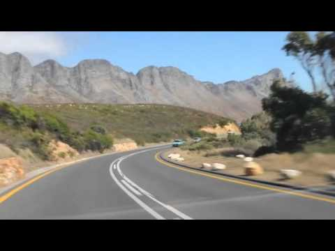 Driving from Gordon's Bay to Rooi Els