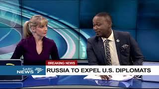 BREAKING NEWS: Russia to expel 60 U.S. diplomats