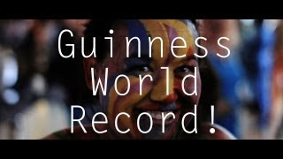 Cork Body Painting World Record  [OFFICIAL VIDEO]