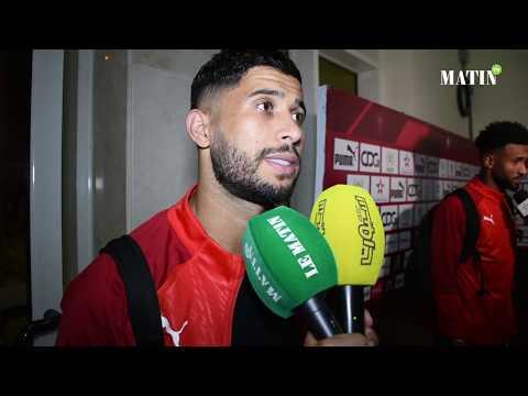 Video : Déclarations d'après match Maroc - Algérie