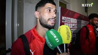 Déclarations d'après match Maroc - Algérie