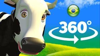 A vaca Maru - 360 graus - A Fazenda do Zenão | O Reino das Crianças