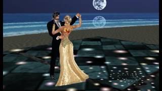 Sala-Amanda e Yscarface-dançando Danubio Azul