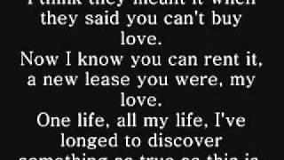 RENT: I'll Cover You (Reprise) Lyrics