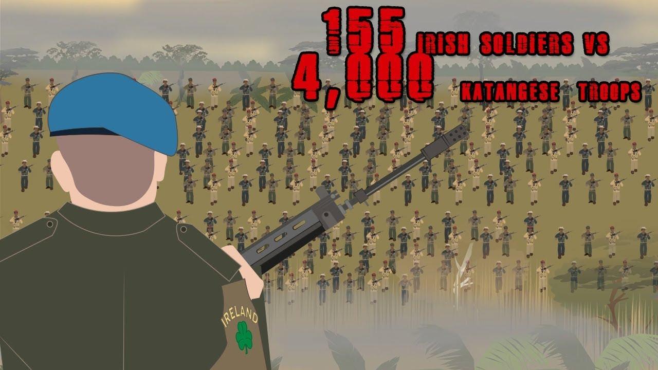 The Siege of Jadotville (155 Irish Soldiers VS 4,000 Katangese Troops)