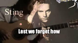 Sting - Fragile (karaoke)