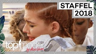 Tränenreicher Abschied bei den Mädels: So nah geht es den Models | GNTM 2018 | ProSieben
