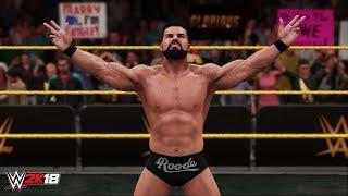 WWE 2K18: Entrada de Bobby Roode