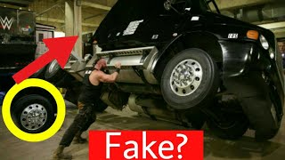 Secret Of Braun Strowman Truck Flip ! Fake Incident By Braun Strowman Flips Truck ? Reality !
