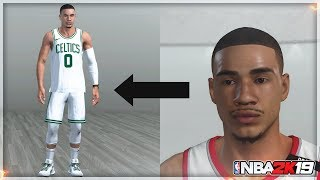 How To Make Your My Player Look Exactly Like Jayson Tatum NBA 2K19 (Face and Outfit Creation)