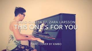 David Guetta ft. Zara Larsson - This One's For You (UEFA EURO 2016)  (Piano Cover + Sheets)