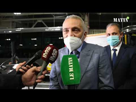 Video : Transport urbain : Visite au siège de l'unité industrielle Irizar Maroc