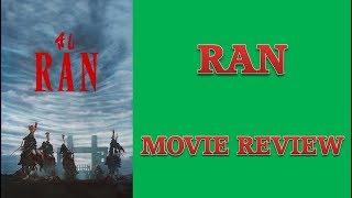 Ran (1985) Movie Review